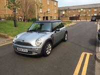 Mini Cooper 2004 1.6 Hatchback, Silver, Mot March 2018