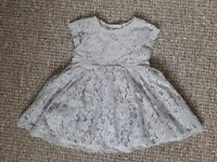 NEXT Baby Girl DRESS with Cardigan 3-6 months
