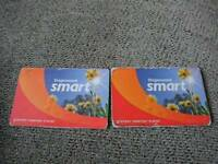 2 Stagecoach Smart cards