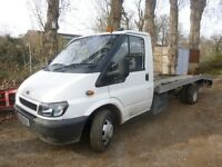 Ford transit beavertail recovery 2005