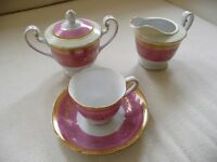 China cups, saucers and plates - very pretty - decorative items or wedding/tea/coffee shop