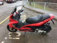 Gilera Nexus 250cc Red Scooter