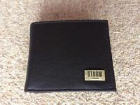Storm Leather Wallet (New with free UK postage)