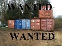 ***WANTED*** SHIPPING CONTAINERS TO BUY ***WANTED***