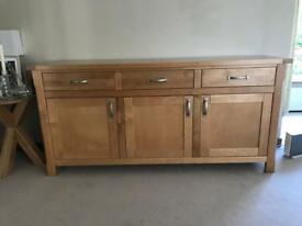 Birch solid wood sideboard