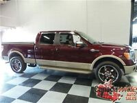 2010 Ford F-150 CREW 4X4 KING RANCH/ LEATHER/SUNROOF