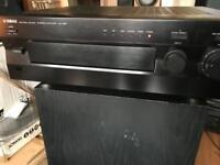 Yamaha 210w natural Sound amp receiver with remote