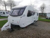 2018 Swift Elegance 650 twin axle touring caravan with motor mover