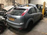 Ford Focus Mk2 light blue silver Breaking For Spares 1.6