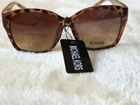 mk animal print ladies sunglasses new very light and comfortable vintage frame