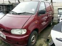 Nissan vanette 2001 2.3 diesel breaking for spares export