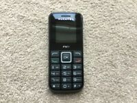Actel Mobile Phone in near unused condition. PAYG phone locked to EE.