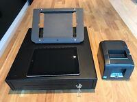 POS Hardware Bundle - iPad3 32 GB with WIFI, iPad Stand, Till and Thermal Printer