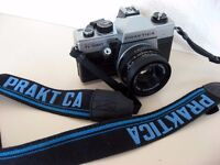 PRAKTICA SUPER TL1000 & PENTACON f1.8 50mm LENS + TEST PHOTOS - PENTAX M42 SCREW FIT £29 ono