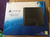 PS4 1TB NEW IN THE BOX