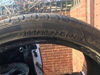 285/35R22/102W tyres x3