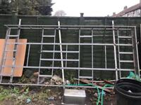 Ford transit mk6 and mk7 Roof rack with rolllers