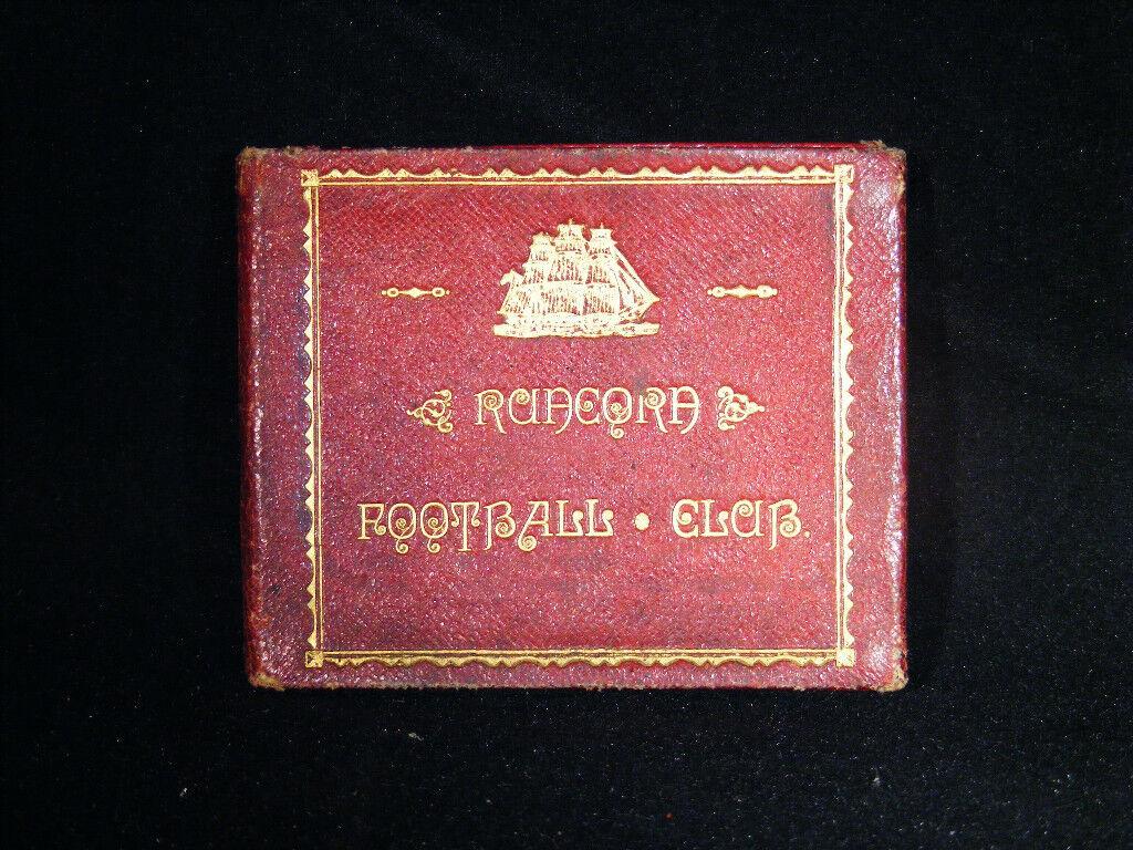 VERY RARE 1887 - 88 RUNCORN FOOTBALL CLUB SEASON TICKET