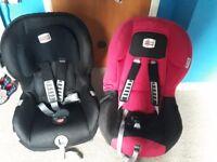 BRITAX CAR SEATS!