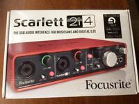 Focusrite Scarlett 2i4 (2nd gen)