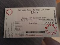 Standing ticket for Goldie with Heritage Orchestra at Roundhouse