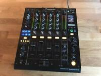 Pioneer DJM 900 Nexus DJ Mixer - V good condition 2015 model ( CDJ 2000 DJM XDJ TECHNICS )