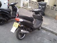 125cc MOPED/SCOOTER, AUTOMATIC