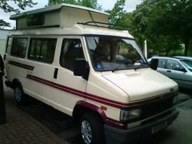 Talbot camper van for sale. Low mileage. Mot next April. Only 2 owners