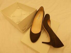 LK Bennett heels in tweed (£140 new) size 40 (7UK)