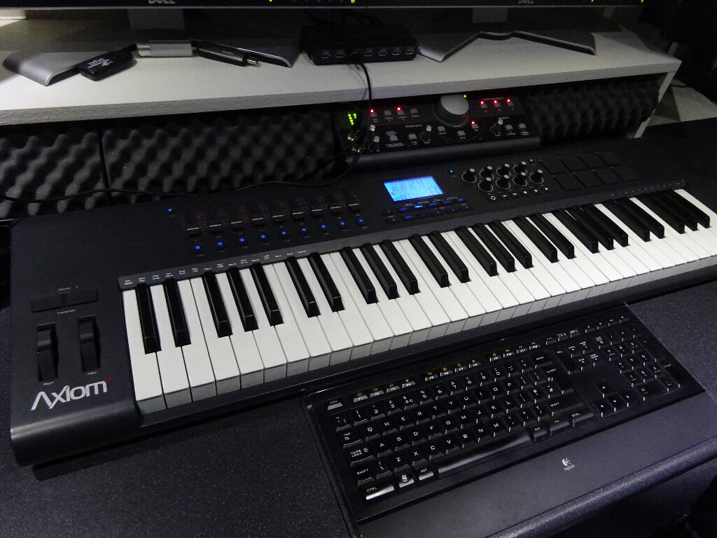 m audio axiom 61 2nd generation midi keyboard brand new condition in glenrothes fife gumtree. Black Bedroom Furniture Sets. Home Design Ideas