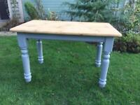 Pine Kitchen / Dining TABLE ....Chairs available
