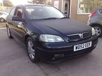 2002 52 VAUXHALL ASTRA 1.6 SXI 3DR