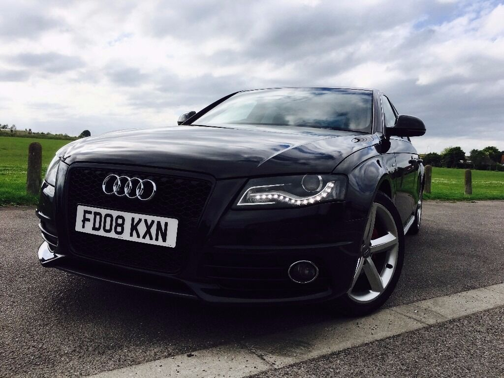 audi a4 b8 2 0 tdi manual s line sat nav in surrey gumtree. Black Bedroom Furniture Sets. Home Design Ideas