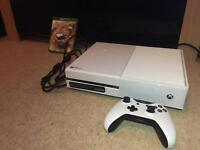 White Xbox One Console + 2 Games