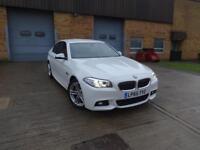 BMW 5 Series 520d M Sport (white) 2015
