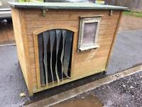 3 x 4 dog kennel for very large dog