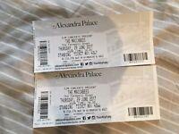 2x Tickets (£30 Singluar) 'The Maccabees' Alexandra Palace, London Thursday 29 Jun '17