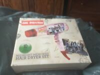 One direction brand new boxed hair dryer great gift