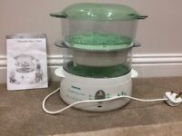 Tefal 2-Tier Aqua Timer Steamer (only used twice!)