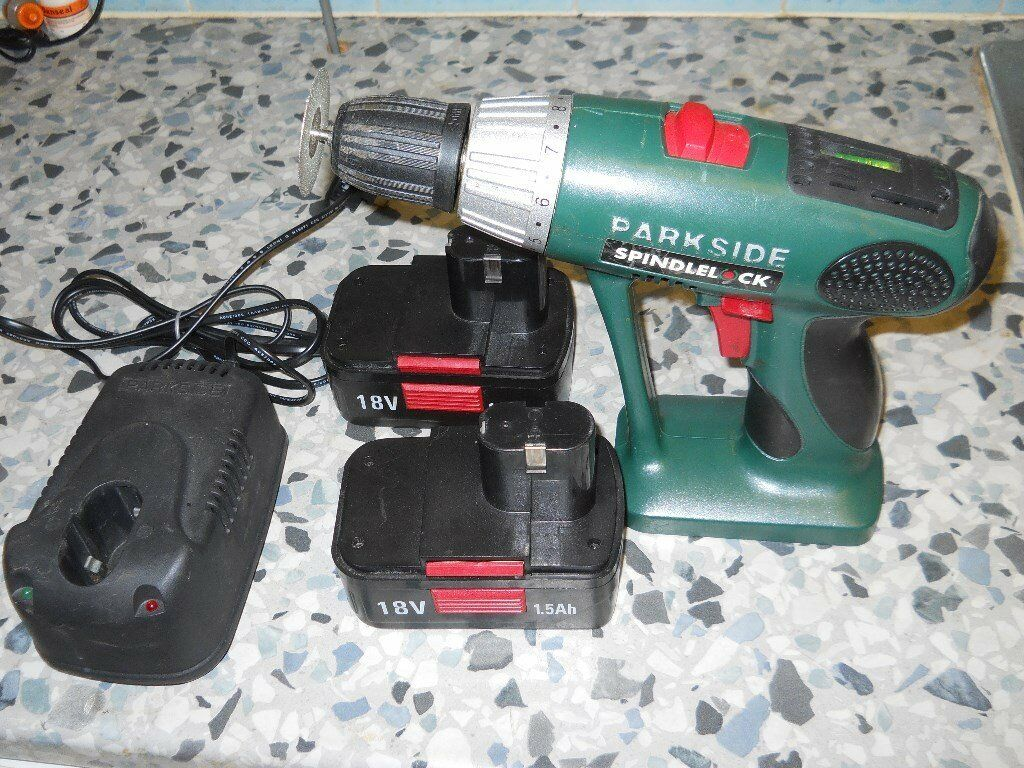 Power Drill. 18Volt. 1.5 AH. Two batteries and Charger