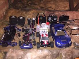 Nitro RC cars and spares