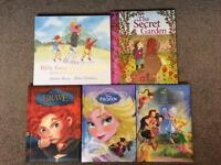 5 children's hardback books age 3+