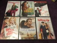chick flick dvds,50p each
