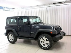 2013 Jeep Wrangler 4X4 SPORT REMOVABLE HARD TOP  3DR SUV 4PASS