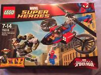 Lego Spider-Helicopter Rescue. Brand new. Unopened