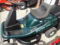 hayter heritage 10/30h ride on lawnmower