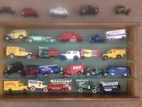 Vehicle Collection from over 55 years, Matchbox and Days Gone - Some models dating back to 1970s
