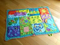 Bright and colourful Tiny Love baby mat