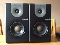 2 x Alesis M1 Active 620 powered speakers for sale (SOLD)