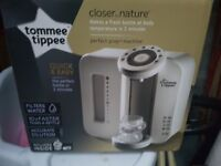 Brand New Tommee Tippee Perfect Prep Machine in White